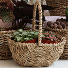 Plants Plant Baskets Lovely Plants Natural Seagrass Flower Basket