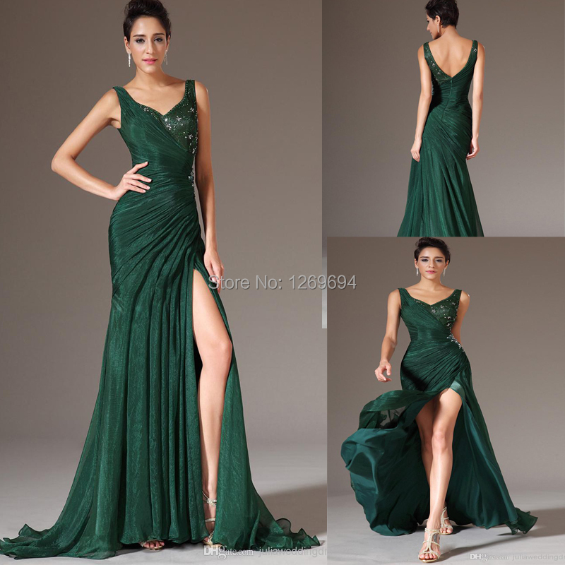hunter green dresses - photo #15