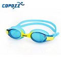Copozz Colorful Children Kids Waterproof Silicone Anti Fog Swimming Glasses Goggles Eyewear Eyeglasses with Exquisite Packaging