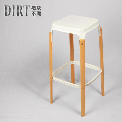 bar tabouret de bar tabouret tabouret de bar tabouret de bar en bois chaise haute pied en fer. Black Bedroom Furniture Sets. Home Design Ideas