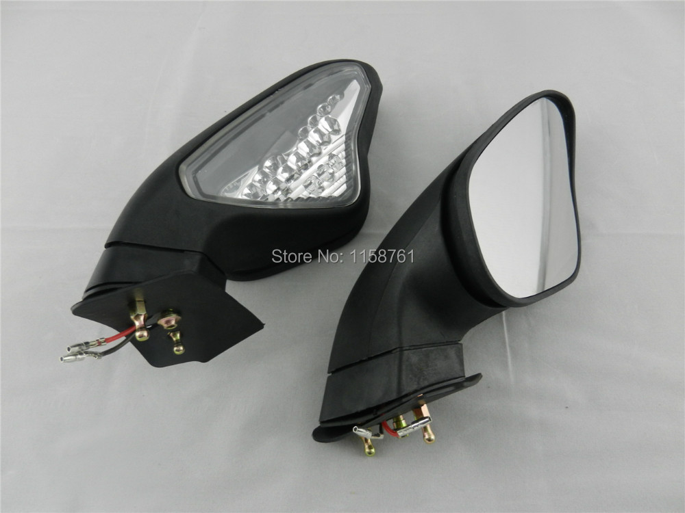 free shipping turn signals led light rear mirrors for. Black Bedroom Furniture Sets. Home Design Ideas
