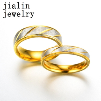 Artificial gold engagement rings in 916 gold wholesale