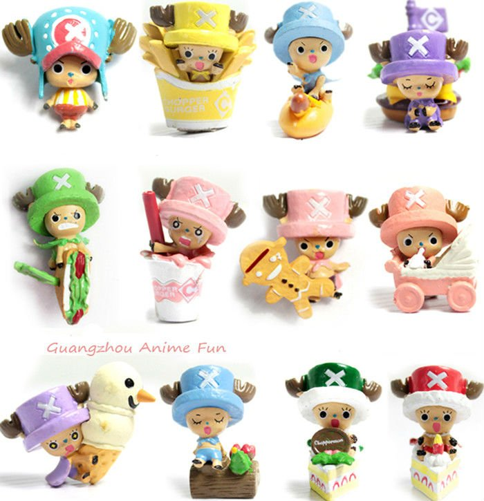 Free shipping one piece Figure One Piece Chopper 2 Years Later