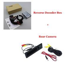 Автомобильная камера заднего вида для BMW X1 E84 F48 2010-2020 Автомобильная резервная камера обновленная система декодер Full HD CCD аксессуары(Китай)