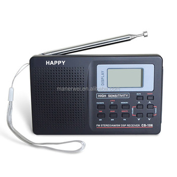 Factory Directly Am Fm Portable Radio Digital