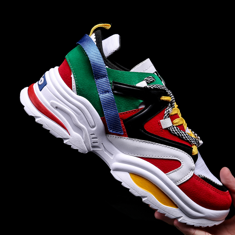 Hot sale Mens Running Shoes Fashion casual sport shoes Lightweight chunky basketball shoes Men Running trainers Zapatillas mujer