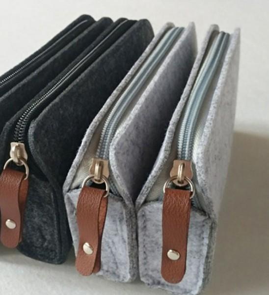 Felt Fashion stationary pencil cases