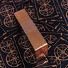 Brass gold foil edges