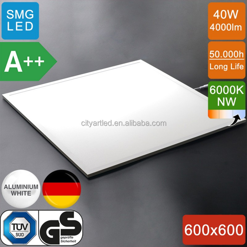 CART prismatic milk white dimmable led panel light IP 44 waterproof 600x600 led panel light