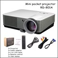 Portable Mini Projector 2000 Lumens 3D Projector HDMI Home Theater beamer multimedia projector Full HD 1080p