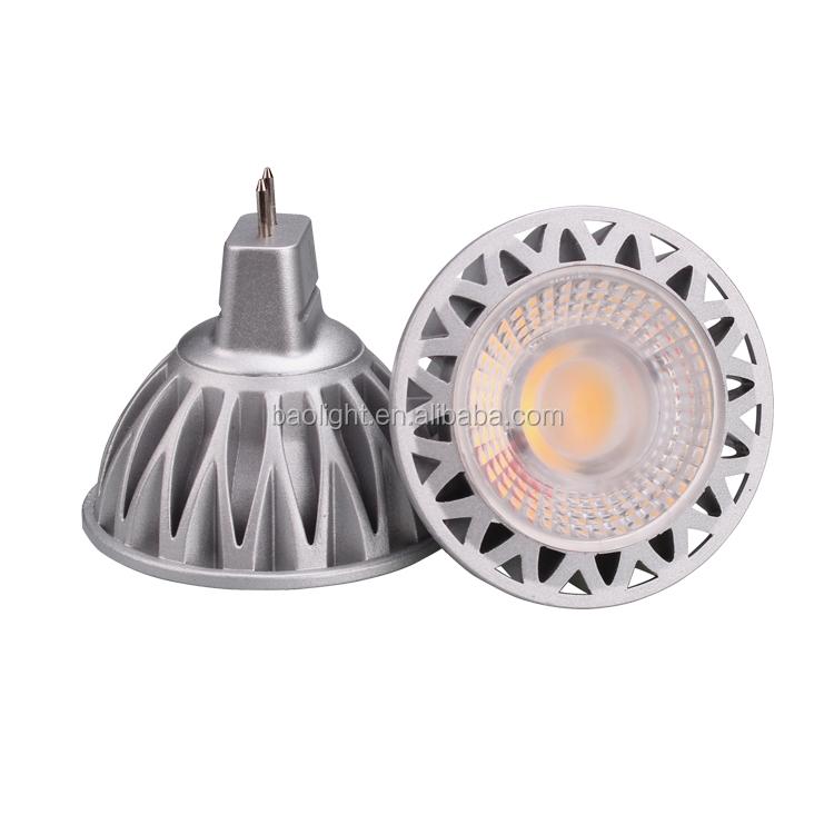 Chinese factory direct sales Led GU10 Bulb AC100-240V 5W 7W Mr16 Led Ceiling Spot Light COB Mr16  Light Spot