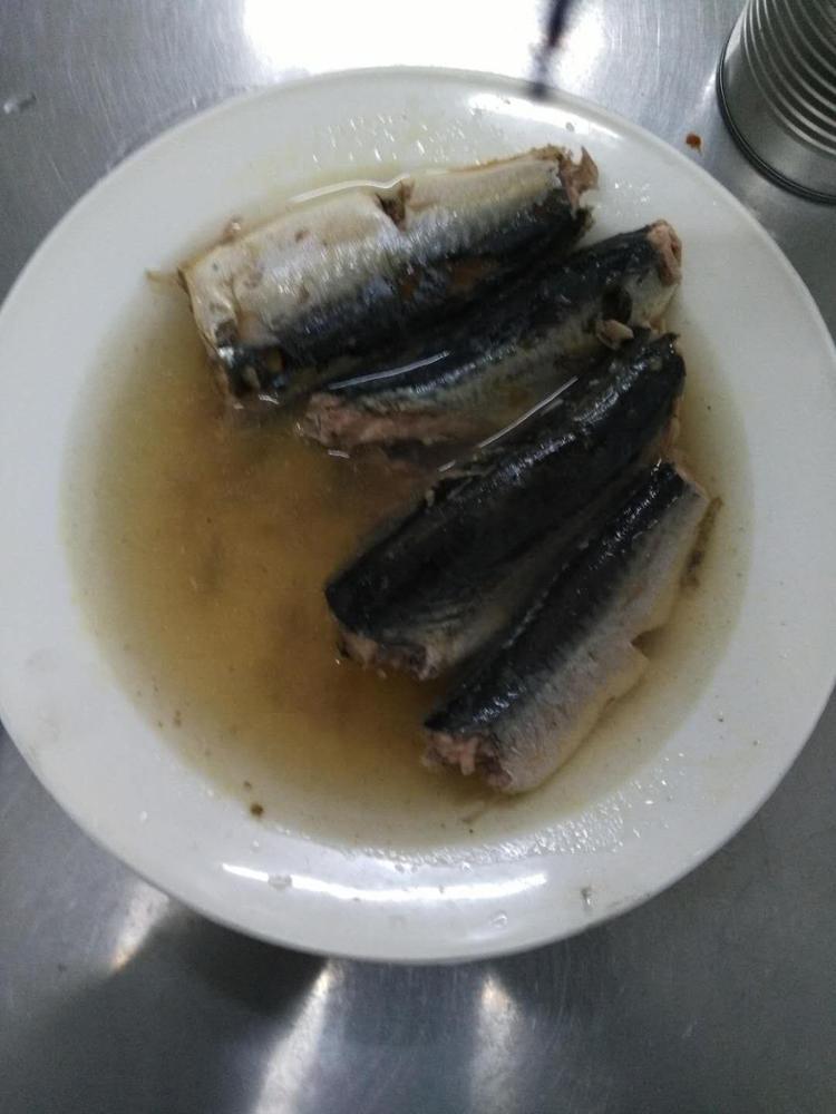 Китайская консервированная рыба, консервированная скумбрия в рассоле, консервированная скумбрия в томатном соусе 155 г, 425 г