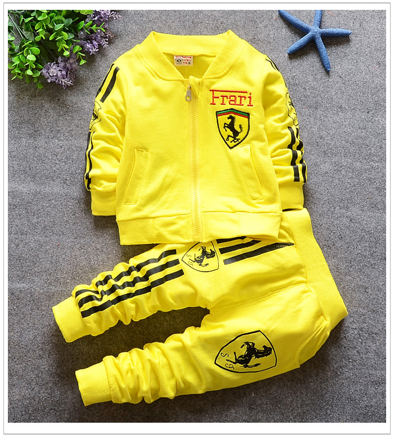 696a380dabee Kids Boys 1-4 Years Soccer Jersey Training Suit Tracksuits ...