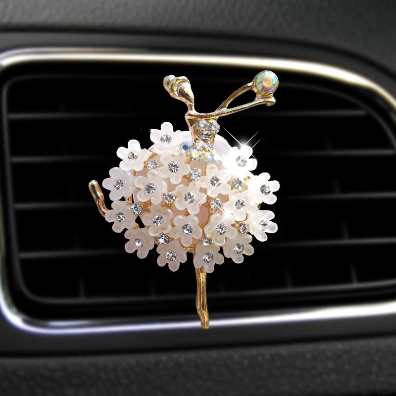 Car Decoration Perfumes Clip Shape Diamond perfume car air freshener essential car oil diffuser