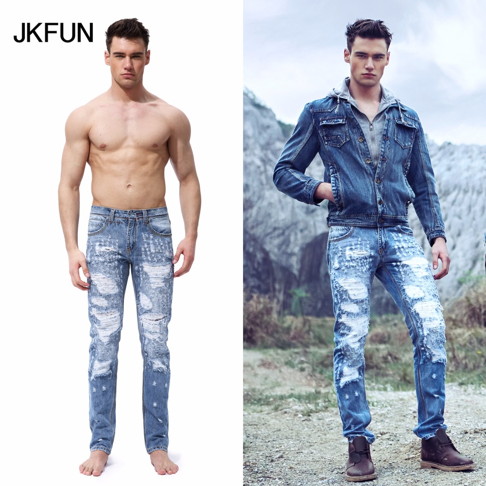 Ripped Jeans For Men Light Blue Is Jeans