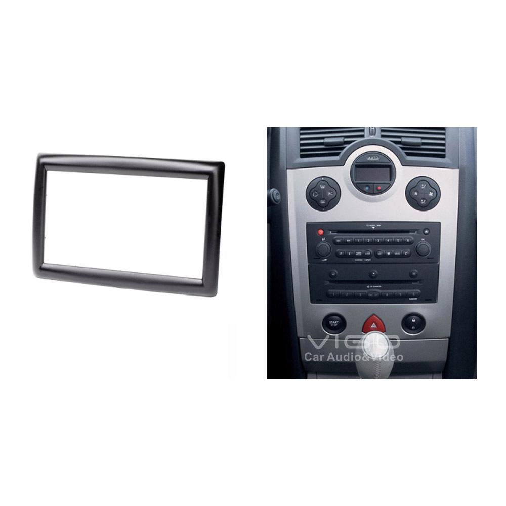 11 151 car audio facia for renault megane ii 2002 2009 stereo dash kit installation fascia face. Black Bedroom Furniture Sets. Home Design Ideas