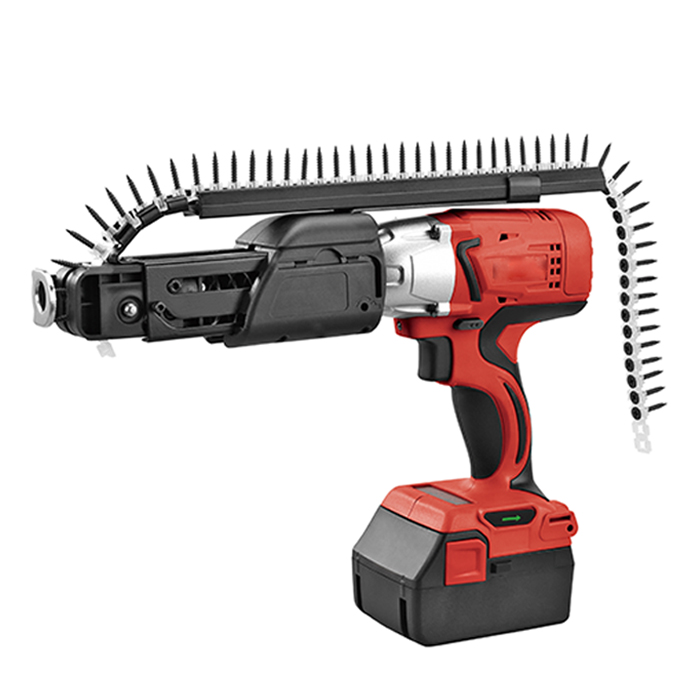 Rechargeable Portable Auto Feed Drywall Battery Powered Nail Guns - Buy  Stand Up Screw Gun,Auto Feed Drywall Screw Gun,Battery Powered Nail Guns  Product on Alibaba.com