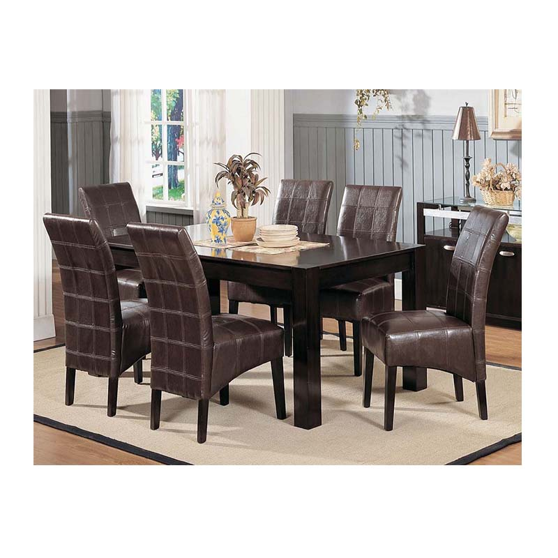 Hotel Long Square Dining Table Set