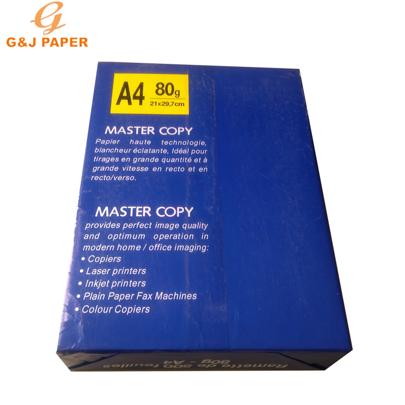 White A4 Size 80g Copy Paper in 500 Sheets
