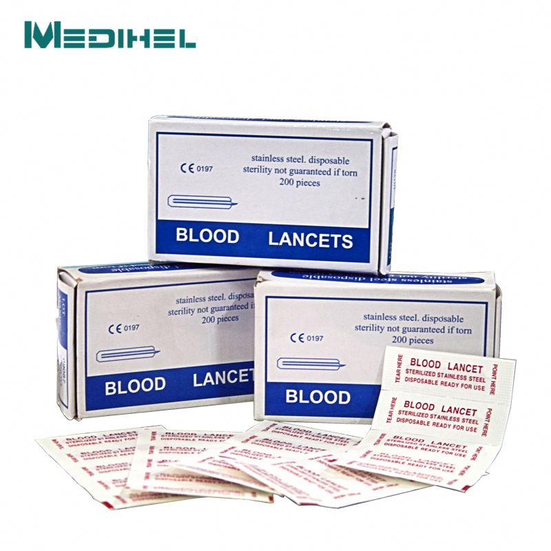 manufacturer of pull off twist soft touch safety blood lancet
