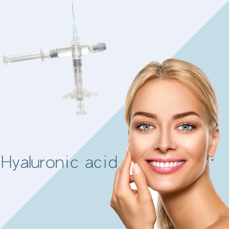 CE certification 1m deep for lips Hyaluronic acid demal filler