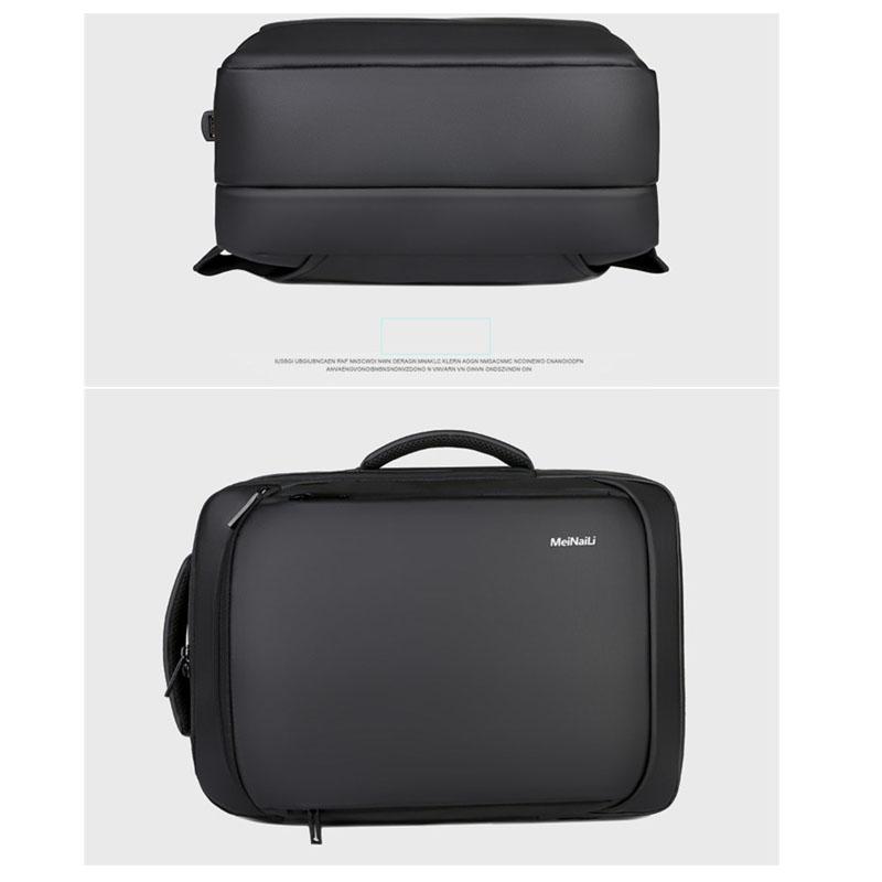 Business Bag Custom Back Pack Wholesale Usb Charging School Bags For Men Laptop Travelling Waterproof Backpack Anti Theft