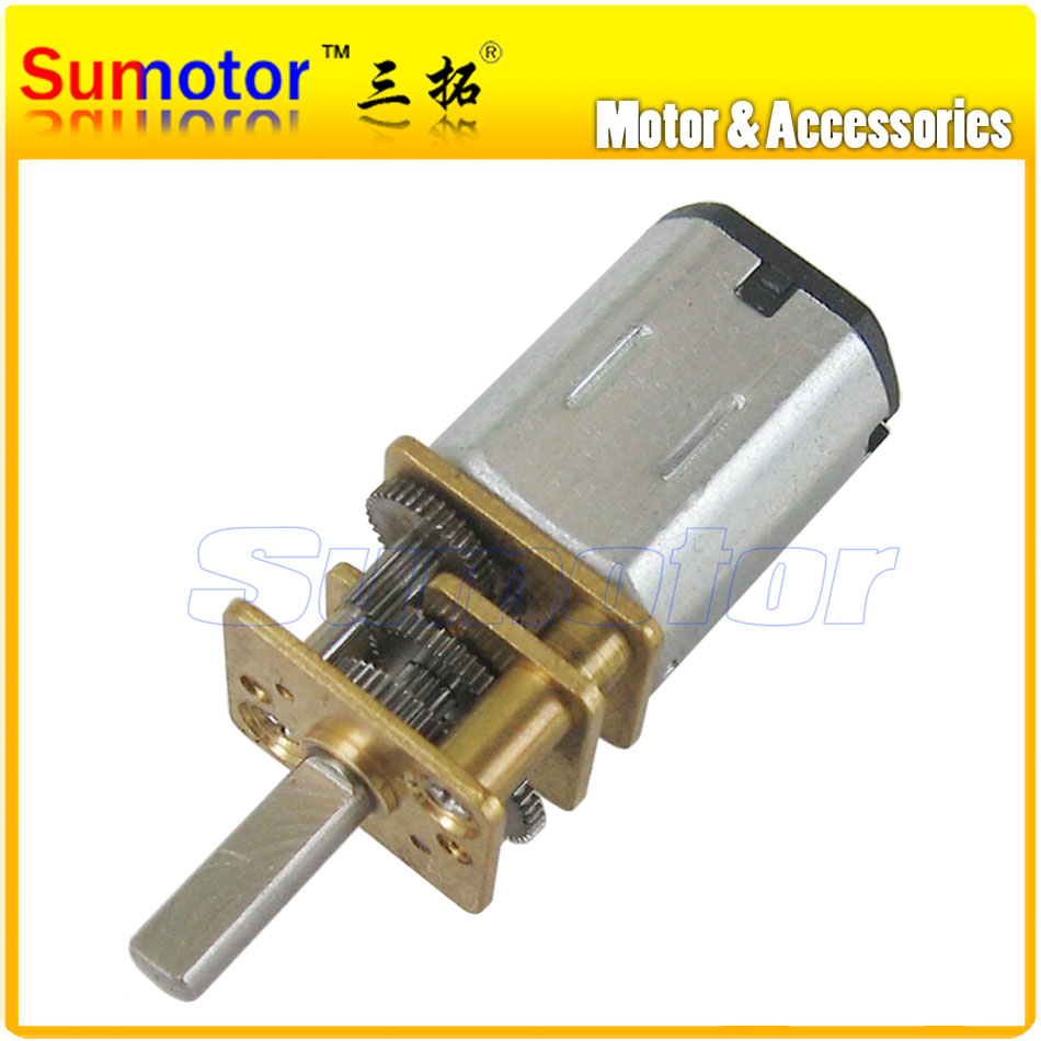 12GA DC 6V Micro Electric Reduction Metal Gear Motor for RC Car robot model DIY engine Toys House Appliance parts Optional speed