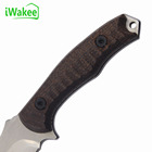 Knife Manufacturer Wholesale Sanding Micata Outdoor Camping Survival Tactical Straight Knife Hunting Manufacturer