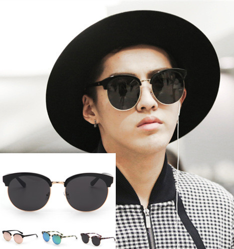 804ea3ec158 2015 New Fashion Quality Korea Famous Brand Designer Oversized Sunglasses  Men Quality Shades .