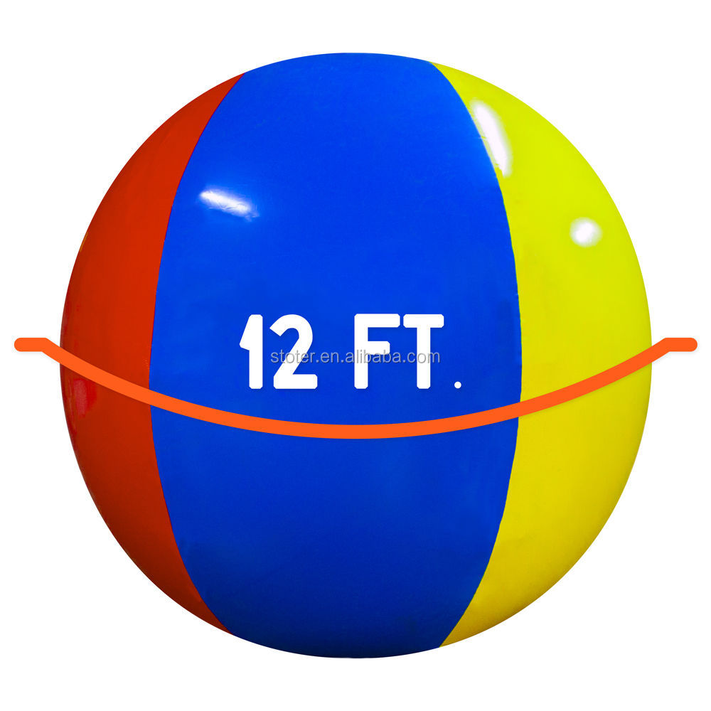 High quality inflatable giant globe ball made of non phthalate pvc and OEM orders and customized size are welcome