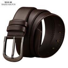 New leather men's leather belt belt tide men casual pin buckle belt men's fashion belt factory direct wholesale