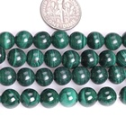 Aaa Beads Loose Beads 6mm Wholesale Natural AAA Malachite Gemstone Loose Beads For Jewelry Making 4mm 6mm 8mm 10mm 12mm