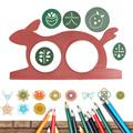 2017 Magic Creative Rabbit Pad Sketchpad Drawing Board Kids Gift Educational Toys MAR3 30