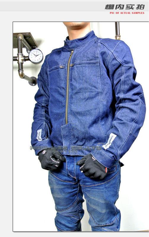 1 Бесплатная доставка 2015 Komine JK077 джинсовые сетки автопробег мотоодежда езды джинсовая одежда