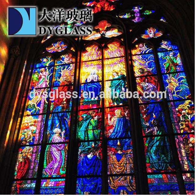 customized stained glass panel producer in China