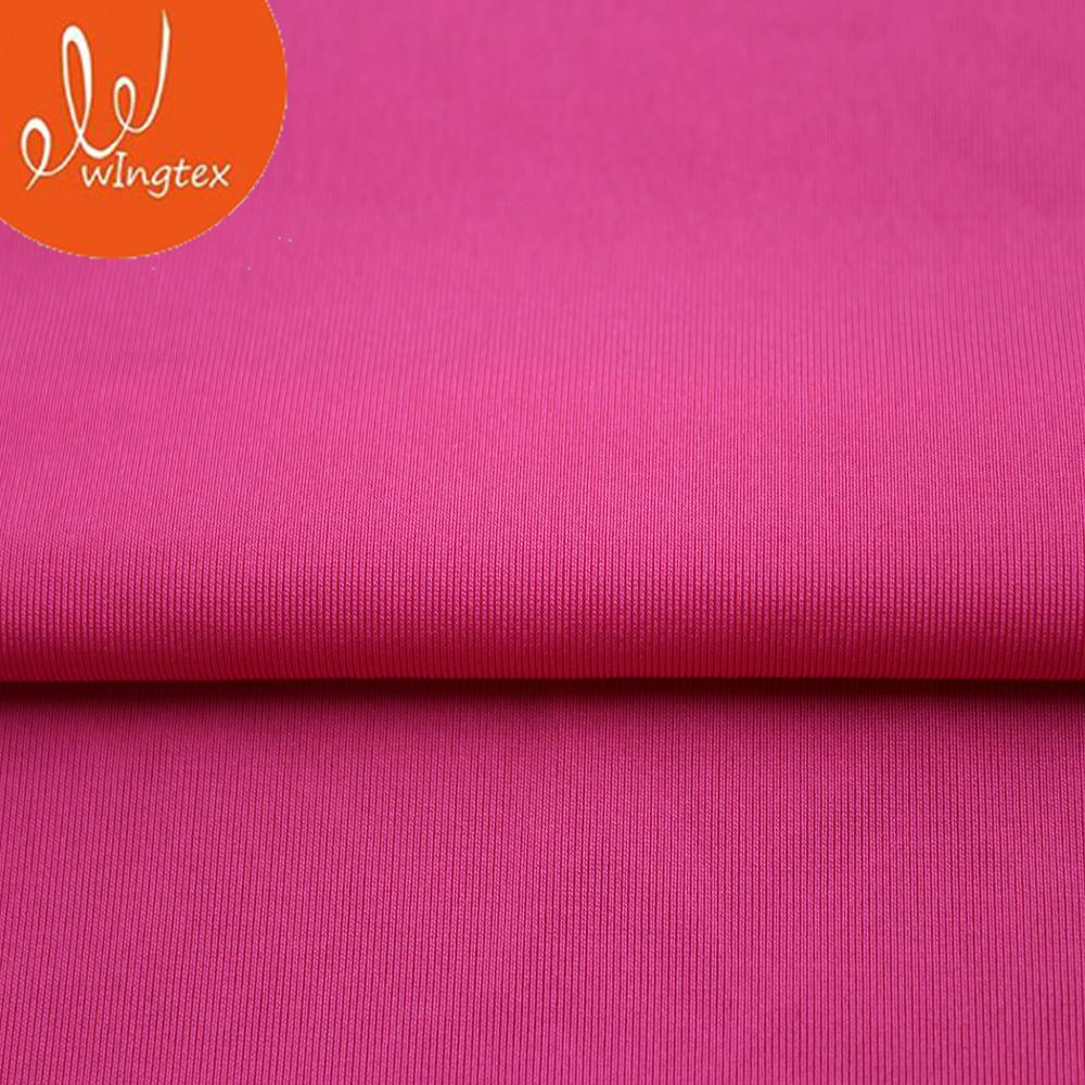 Super Soft Fabric weft knitted, Soft Fabric/tulle polyester spandex jersey, knitting tissus lycra twill breathable fabric