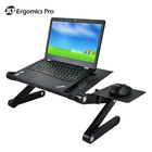 Multifunctional Folding Laptop Table Stand with Mouse Pad