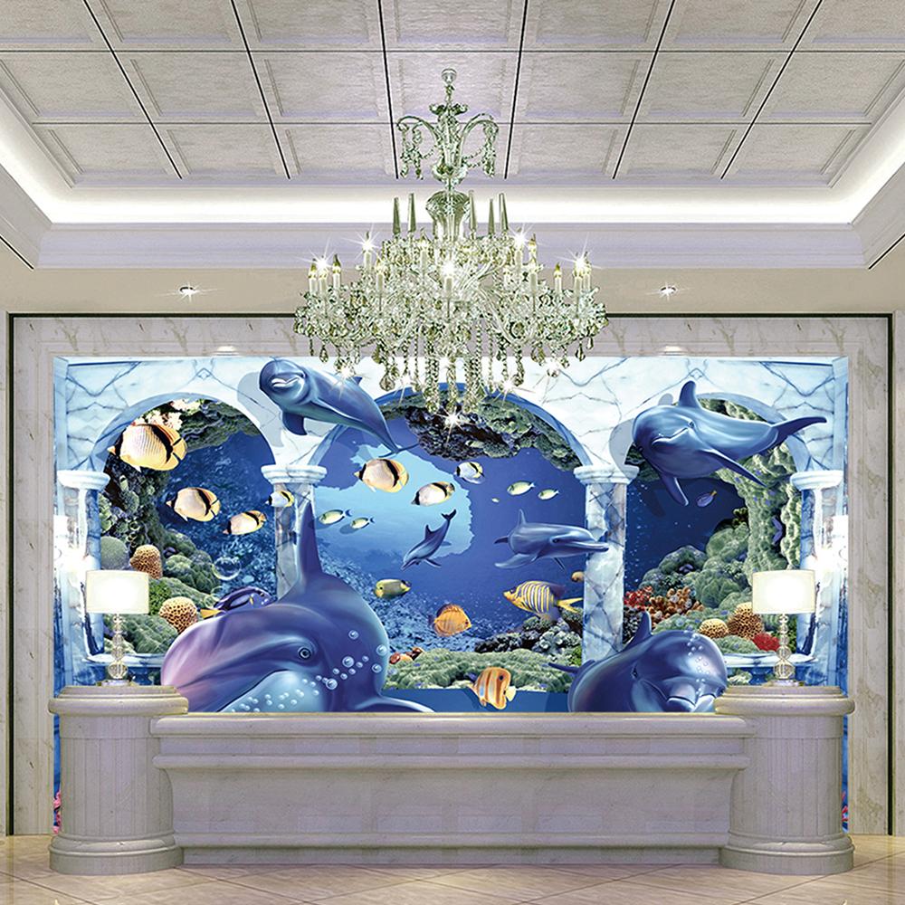 Seaworld Floor 3d Printing Ceramic Dolphin Design Bathroom 3d Tiles Buy Seaworld 3d Floor Tiles Dolphin Tile Dolphin Design Bathroom 3d Tiles Product On Alibaba Com