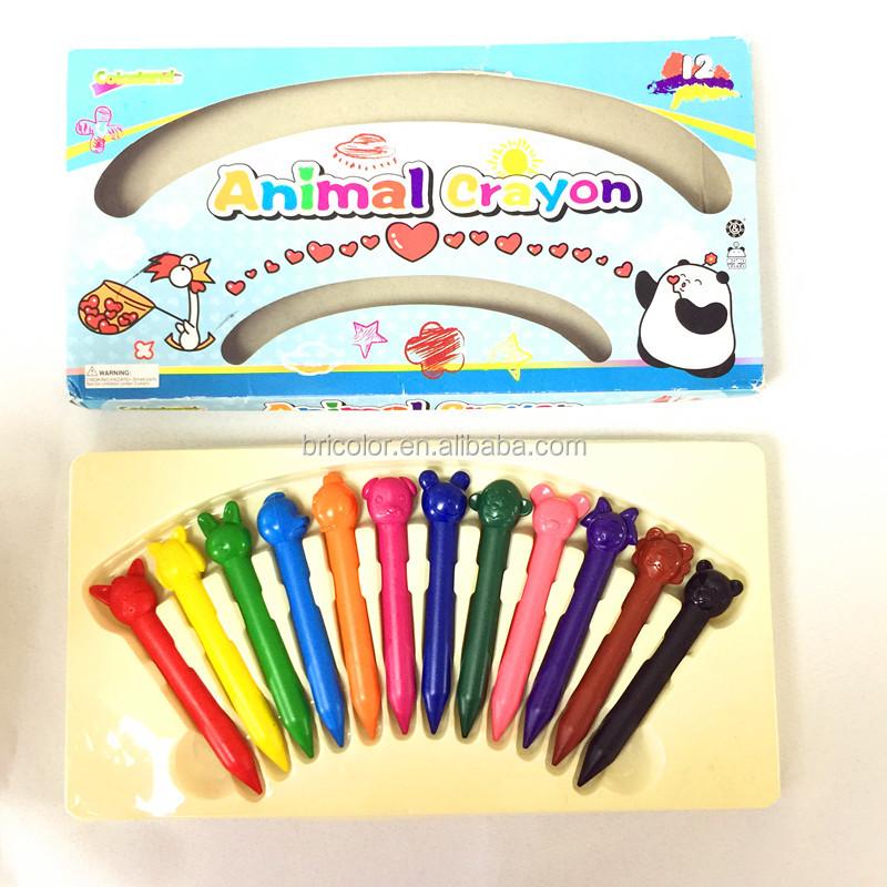 Animal Shaped Crayons of Promotional Wax Crayon