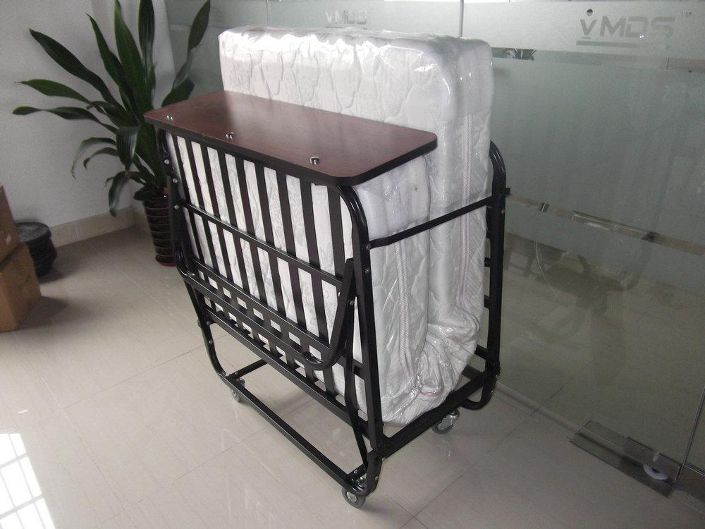 H 003 Hotel Rollaway Beds Portable Metal Cot Bed Queen