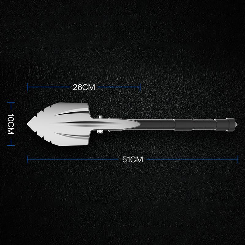 New Design Outdoor Multi-function Self-defense Shovel