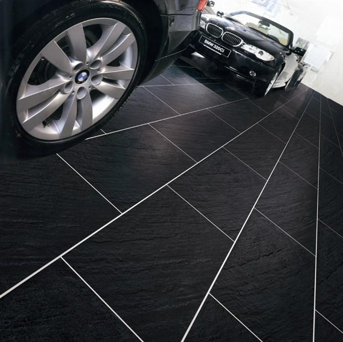 Non Slip Porcelain Tile Garage Floor