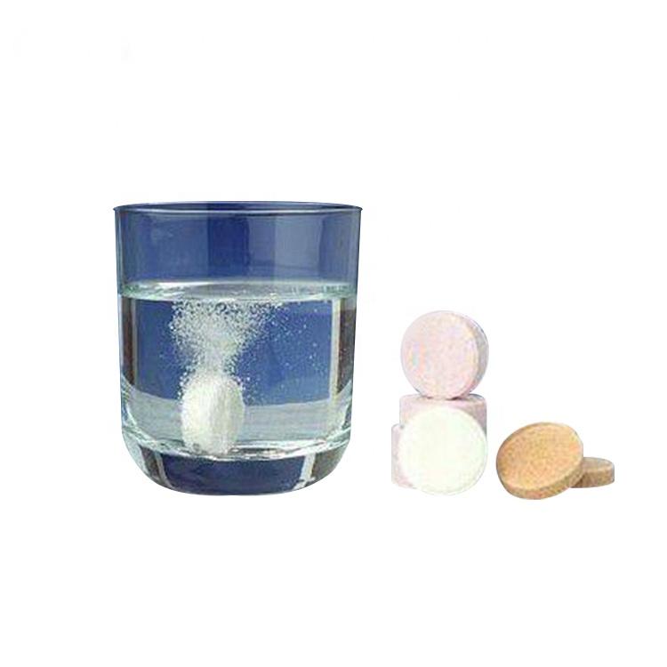Бесплатный образец пищевого класса лучший бренд Витамин С шипучий таблетки 1000 мг для продажи