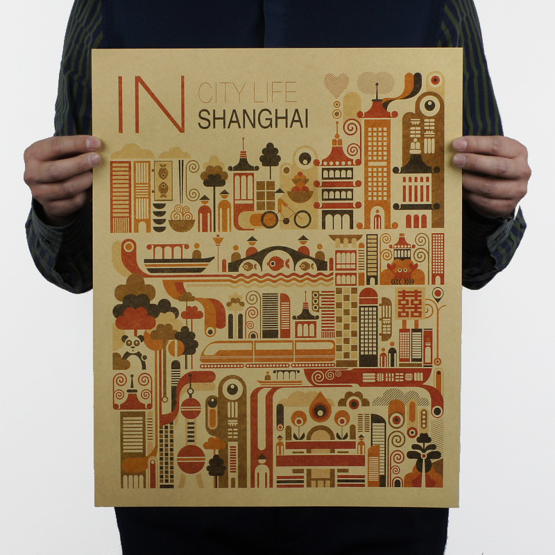 China Shanghai Scenery Wall Stickers Oriental Pearl Tv: Shanghai Print Promotion-Shop For Promotional Shanghai