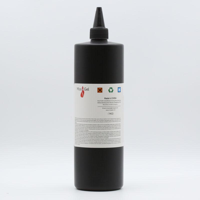 MissGel oem/odm professional nail uv gel 1kg bulk package uv&led