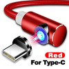 Red for type C