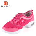 New Brand Adults Women Dance Shoes 2016 Ladies Girls Air Mesh Lace Up Sports Dancing Shoes