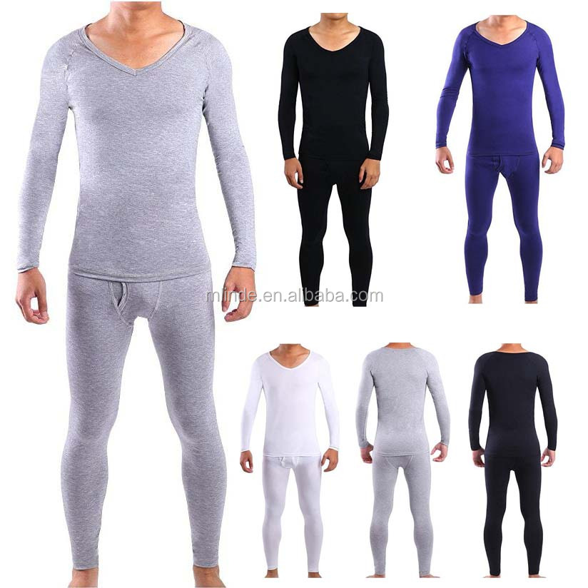 Thermische Unterhemd Unterhose für Herren Thermische Unterwäsche Unterwäsche