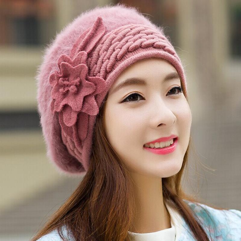 2016 Beanies Women's Winter Hats For Women Knitted Bonnet ...