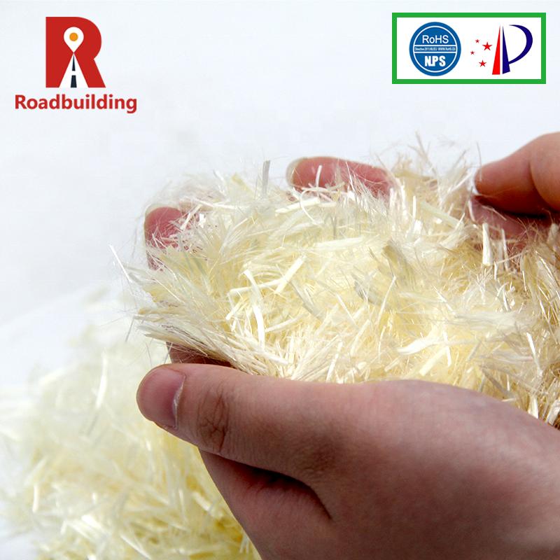 Механические свойства Девы переработанных штапельного из полипропиленового волокна